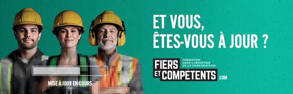 Fiers et compétents CCQ, Commission de la construction du Québec, RIvière-du-Loup, Pavillon-de-l'Avenir, Centre de formation professionnelle, Service aux entreprises
