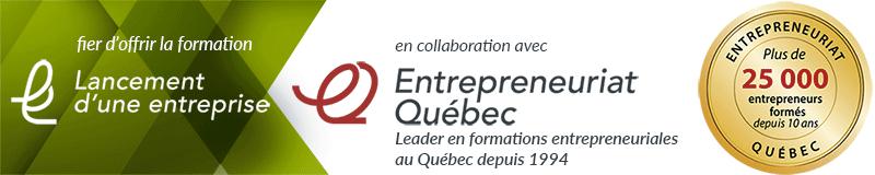 Entrepreneuriat Québec Formation Lancement entreprise affaires idée