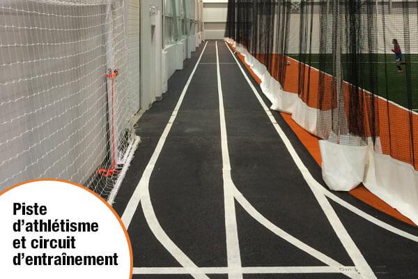 Piste d'athlétisme circuit d'entraînement Stade Premier Tech Rivière-du-Loup sport loisir