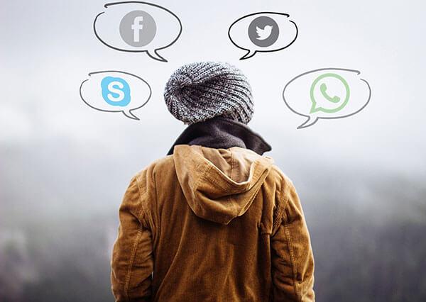 Nétiquette médias sociaux social facebook instagram réseaux Commission scolaire de Kamouraska-Rivière-du-Loup